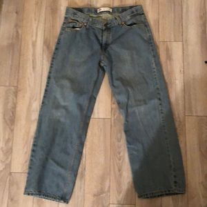 Boys/Men's Levi's 550 relaxed fit jeans